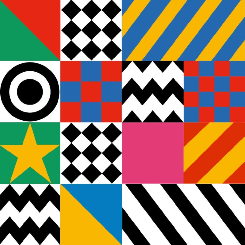 Dazzle It - Sir Peter Blake Pattern