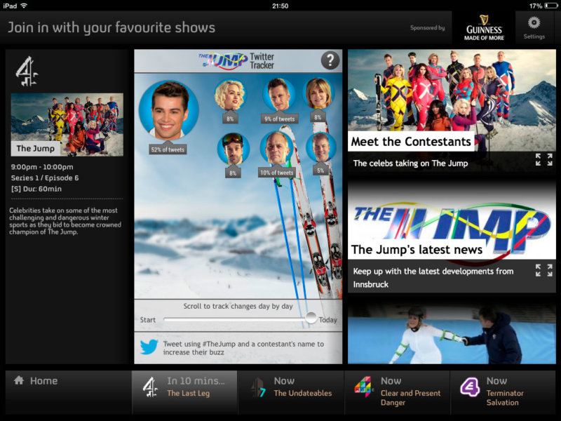 In-app Tracker - The Jump