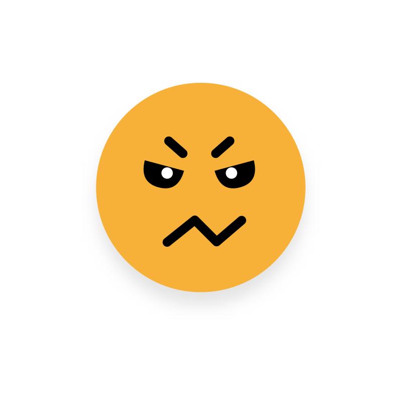 Xploro EAB Cranky Emoji