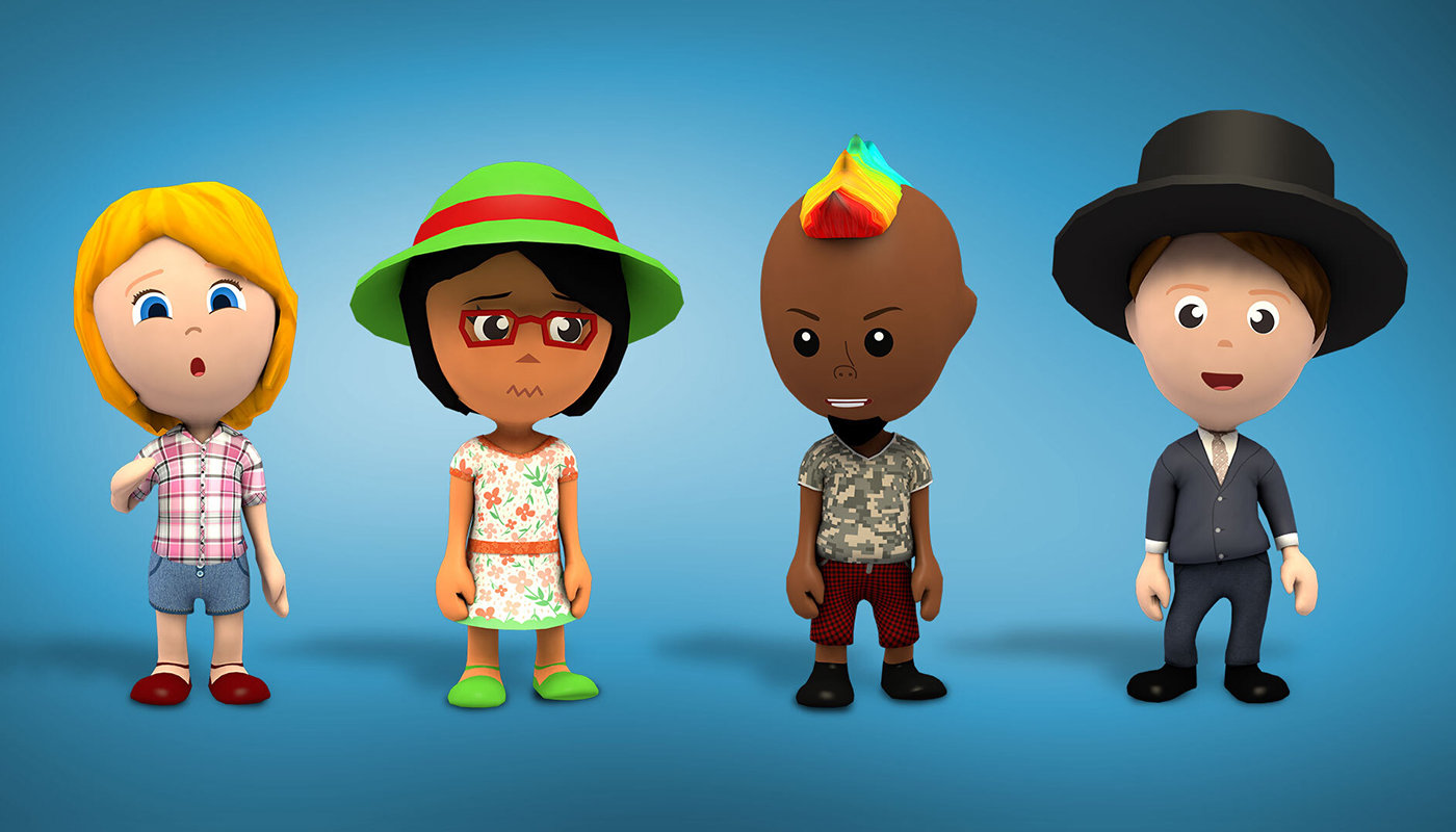 Inclusive design: avatars are culturally diverse