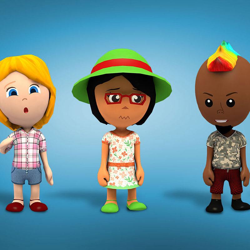 Inclusive design: Xploro's avatars