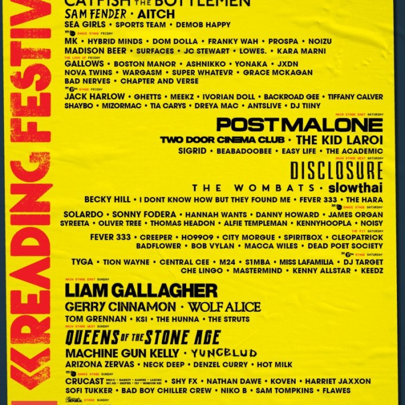 Reading and Leeds 2021